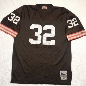 J. Brown Throwback Mitchell & Ness Jersey